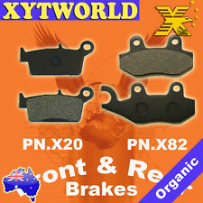 Front Rear Brake Pads Honda XR100 XR 100 M5 HD13 Motard