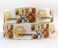 "BTY 1"" Disney Lion King On Broadway Grosgrain Ribbon Hair Bows Lanyards Lisa"