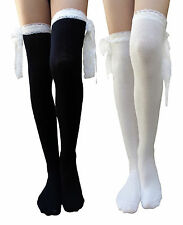 AM Landen®Lolita Socks Gothic Over-Knee High Cotton Socks