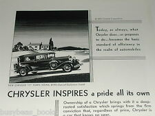 1930 Chrysler ad, Chrysler 77 Town Sedan