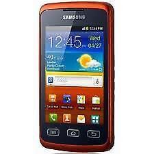 Samsung Galaxy Xcover GT-S5690 Orange/Schwarz Handy Neu aus Kundenrücksendung