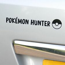 Pokemon Go Pokemon Hunter car sticker decal window sticker