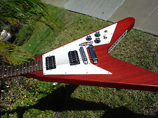2012 Gibson Flying V Faded Cherry  and SKB case
