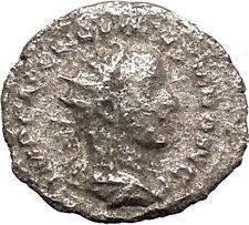 Volusian Roman Caesar 251AD Silver Ancient Roman Coin Concordia Harmony  i46900