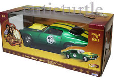 Johnny Lightning Dukes of hazzard General Lee 1970 Cooter's Chevy Camaro 99 1:18