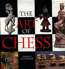 THE ART OF CHESS by Colleen Schafroth : WH2-R4A : HBL010 : NEW BOOK