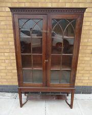 Mahagony bookcase,  glazed bookcase