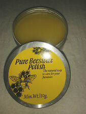 Pure Beeswax Furniture  Polish  made with Pure Turpentine, Min weight 110g