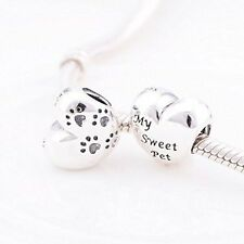 Pandora my sweet pet charm, comes in small gift pouch..