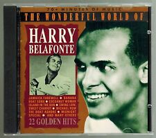 The Wonderful World of Harry Belafonte - CD - 22 songs - all the hits and more