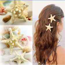 1X Fun Women Girl Sweet Starfish Summer Beach Sea Star Hairpin Hair Clip Gift