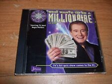 (3) Who Wants to Be a Millonaire + Second & Sports Edition (Win/Mac CD ROM 2000)