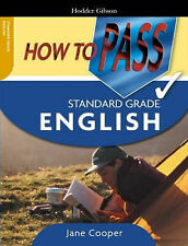 How to Pass Standard Grade English Jane Cooper Excellent Book