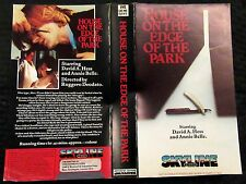 PRE CERT THE HOUSE ON THE EDGE OF THE PARK, VHS, PAL, DPP39, VIDEO NASTY