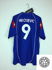La Serbia e Montenegro Milosevic # 9 03/05 * BNWT * Home Football Shirt (XL) in jersey