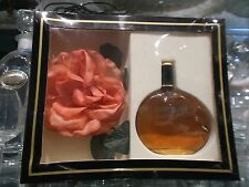 "EXPRESSION jaques fath gift box""edt 50ml+pink flower VERY RARE VINTAGE PERFUME"