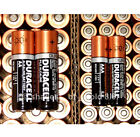 50 AA + 50 AAA Duracell CopperTop Duralock - 100 Brand New Alkaline Batteries