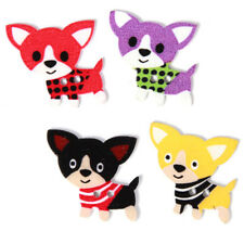 50pcs Wholesale Mixed Color  Wooden Cartoon Dogs Animals Buttons Sew-on Charms J