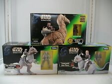 Star Wars Power Of The Force Lot of  3 TAUNTAUN & HAN SOLO, LUKE, RONTO & JAWA