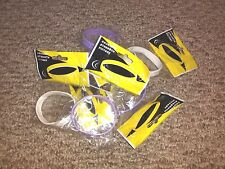 Lot Set Rubber Bracelets Livestrong 2 two Purple Factory Sealed Wrist Bands NEW