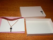 AUTHENTIC VINTAGE 1970's PLAYBOY CLUB KEY NECKLACE PLAYBOY BUNNY KEY NOS W/ BOX