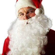 Xmas Santa Beard Adult Mens Christmas Costume Accessory Fancy Dress Party Beard