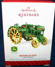 HALLMARK ORNAMENT 2014  JOHN DEERE WATERLOO BOY  TRACTOR