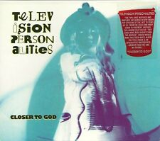 Original 2003 19 Track CD Album  TELEVISION PERSONALITIES   Closer To God   MINT