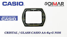 GLASS / GLASS CASIO ORIGINAL AA-84 GREY NOS -WITHOUT GASKET