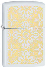 Zippo Classical Curve White Matte Windproof Lighter 28472 New