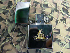 Army Military Regimental Lighter With Royal Warwickshire Regiment On Front