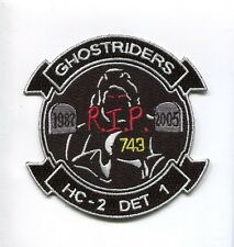 HC-2 FLEET ANGELS DET 1 RIP 2005 US NAVY Sikorsky Helicopter Squadron Patch