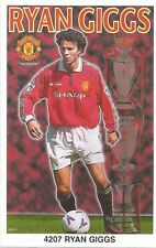 RYAN GIGGS MANCHESTER UNITED Original Starline Poster MINI Promo Piece 3x5