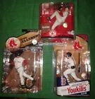 McFarlane BOSTON RED SOX 3 figure lot SCHILLING - ELLSBURY - YOUKILIS