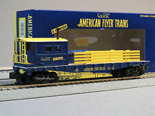 LIONEL AMERICAN FLYER COMMEMORATIVE WORK CABOOSE S Gauge AF 2 rail train 6-48880