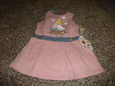 NWT NEW MISHA LULU HELLO KITTY 12-18 STRIPED DRESS