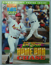 1998 Sports Illustrated For Kids Books + Posters McGwire Sosa