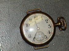 Vintage Elgin Pocketwatch 0 Size Gold Filled Case 1915