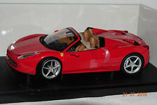 Ferrari 458 Spider rot 1:18 Hot Wheels neu & OVP 5527