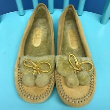 Cole Haan Shoes Loafers Moccasins Woman Size 8B Suede Leather Upper