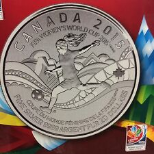 "2015 - $20.00 for $20.00 Canadian Commemorative Coin "" FIFA  Women's Cup """
