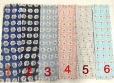 WHOLESALE DAISY SCARVE JOB LOT 12 PCS FLOWER FLORAL PASHMINA SARONG OVERSIZE VIS