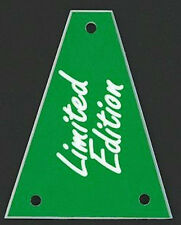 GUITAR TRUSS ROD COVER - Custom Engraved - Fits JACKSON - LIMITED EDITION GREEN