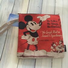 Genuine Disney Mickey Mouse Wristlet/ Bag/ Purse