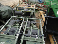 MILITARY MEP-501A DIESEL POWER ENGINE GENERATOR SET 2KW 28VDC 2WIRE GROUNDED