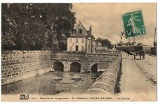 CPA 91 - CHILLY MAZARIN (Essonne) 2113. Le Château de Chilly-Mazarin. Les Douves