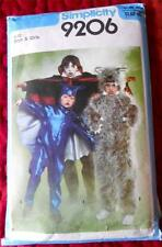 SIMPLICITY PATTERN 9206 GIRLS BOYS HALLOWEEN COSTUME BAT VAMPIRE WEREWOLF 8 - 10