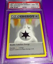 Pokemon Double Colorless Energy 1St Ed Base Psa 8