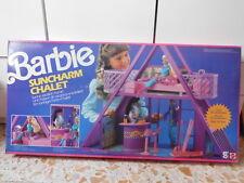 BARBIE SUNCHARM CHALET mattel  anni 90 nuovo fondo di magazzino