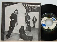 """Badfinger         Day after day         Apple      7 """"      VG+ # A"""